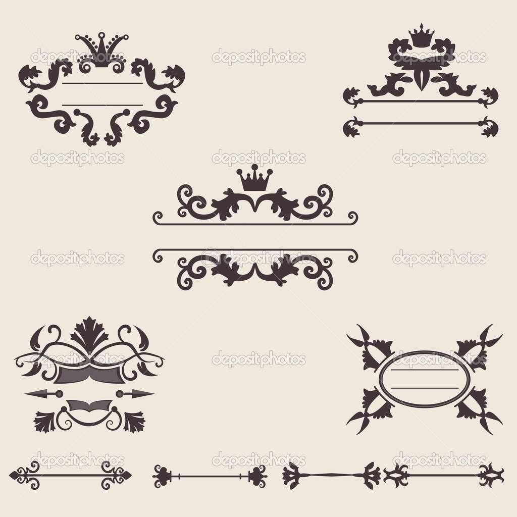 1024x1024 Ornament Border Vector Free Download Luxury 18 Retro Ornament