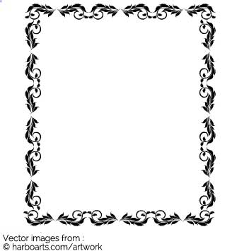 335x355 Download Ornament Frame