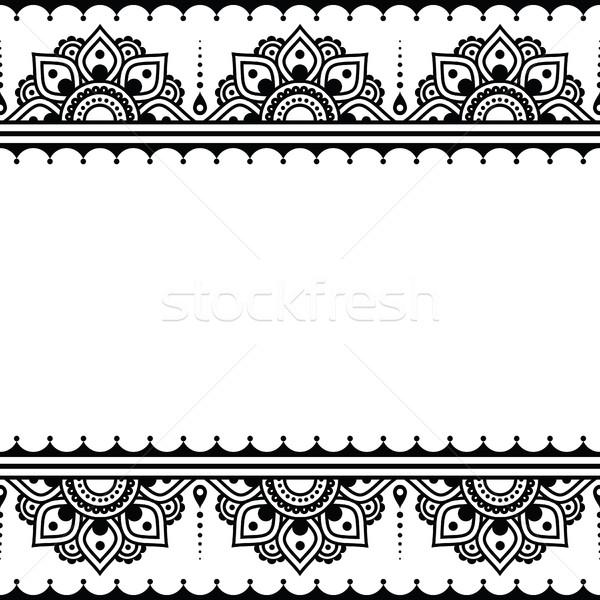 600x600 Mehndi, Indian Henna Tattoo Design