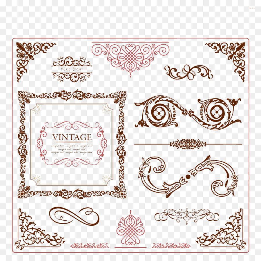 900x900 Ornament Vintage Clothing Picture Frame