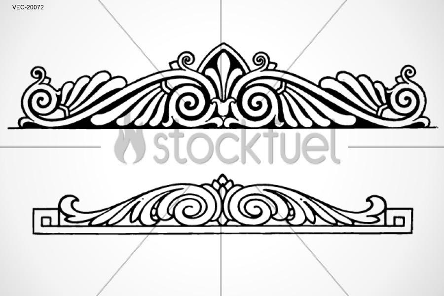 900x600 Vector Border Ornament Vector Graphics Stockfuel