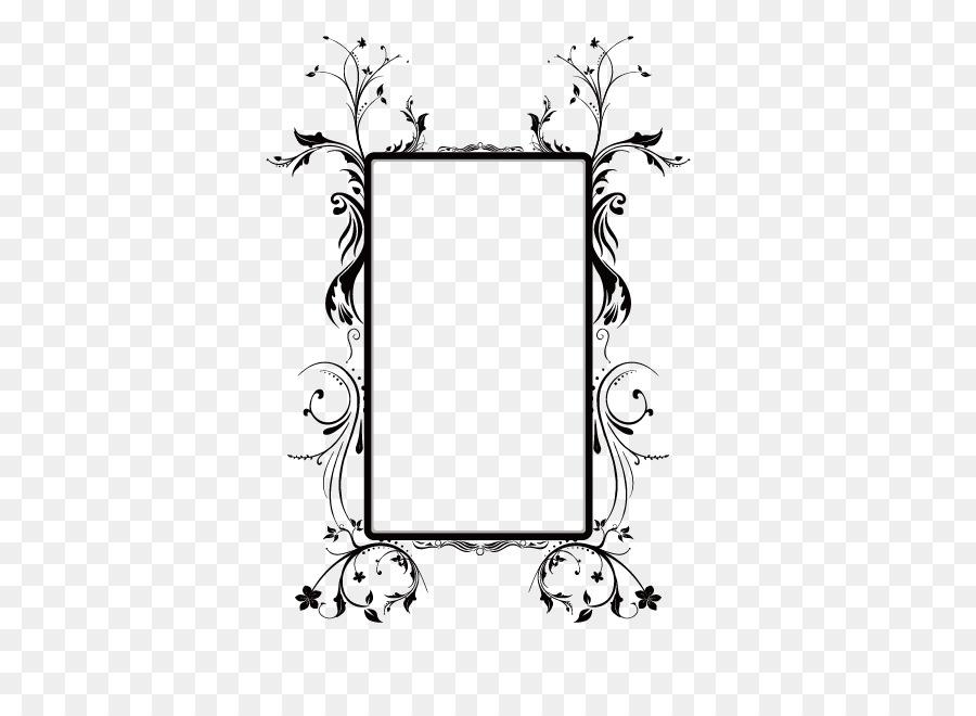 900x660 Download Picture Frame Flower Ornament Vector Flower Box Frame