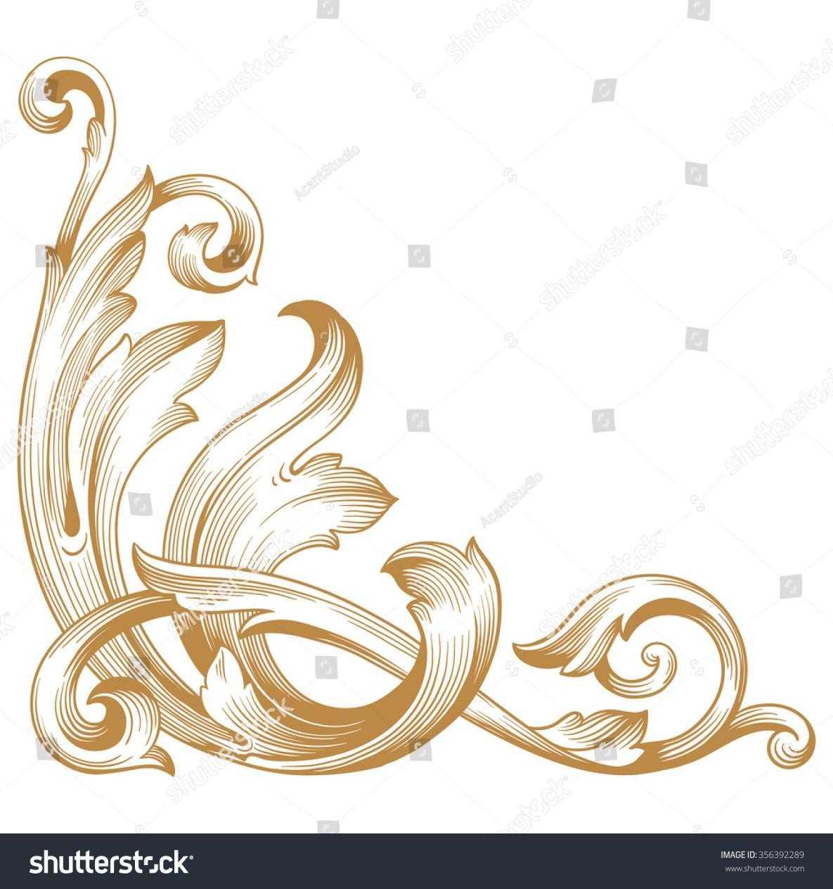 1185x1264 Photo Vector Rhshutterstockcom Golden Mandala Ornament Decorative