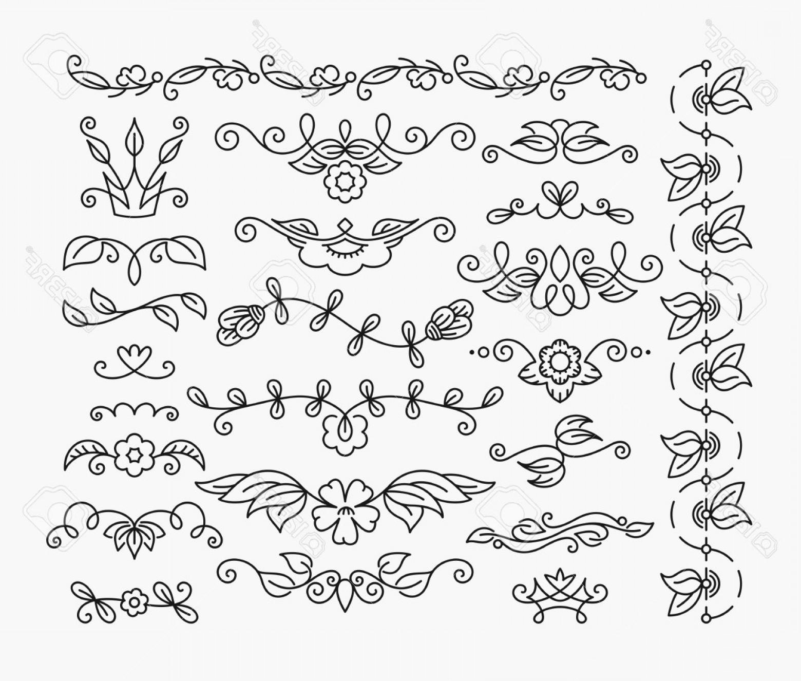 1560x1326 Flower Divider Vector Shopatcloth