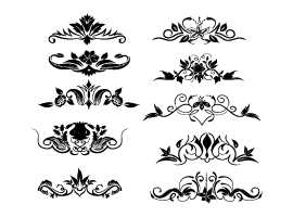 270x200 Free Dividers Vector Graphics