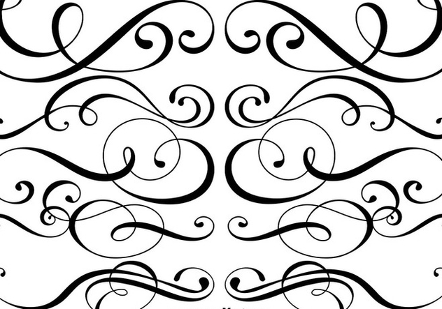 632x443 Ornamental Dividers Vector Free Vector Download 427357 Cannypic