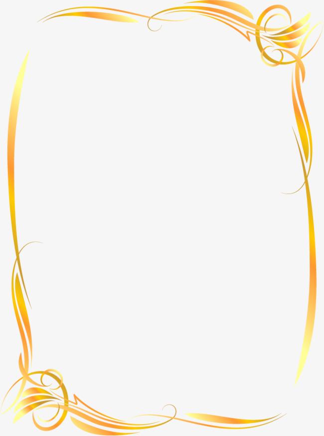 650x873 Ornate Gold Frame Vector, Frame, Border Gold, Border Vector Png