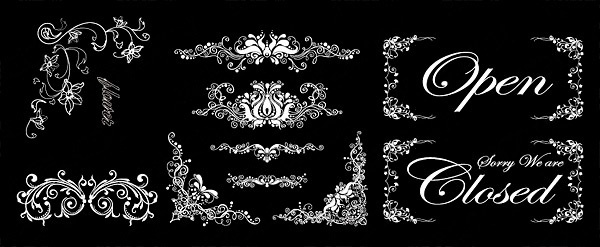 600x247 Ornate Border Free Vector Download (11,117 Free Vector) For
