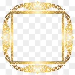 260x261 Ornate Gold Frame Png, Vectors, Psd, And Clipart For Free Download