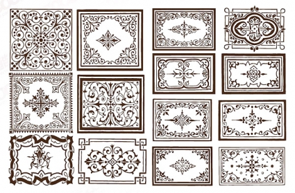425x279 Ornate Border Frame Vector Vector Free Vector Download In .ai