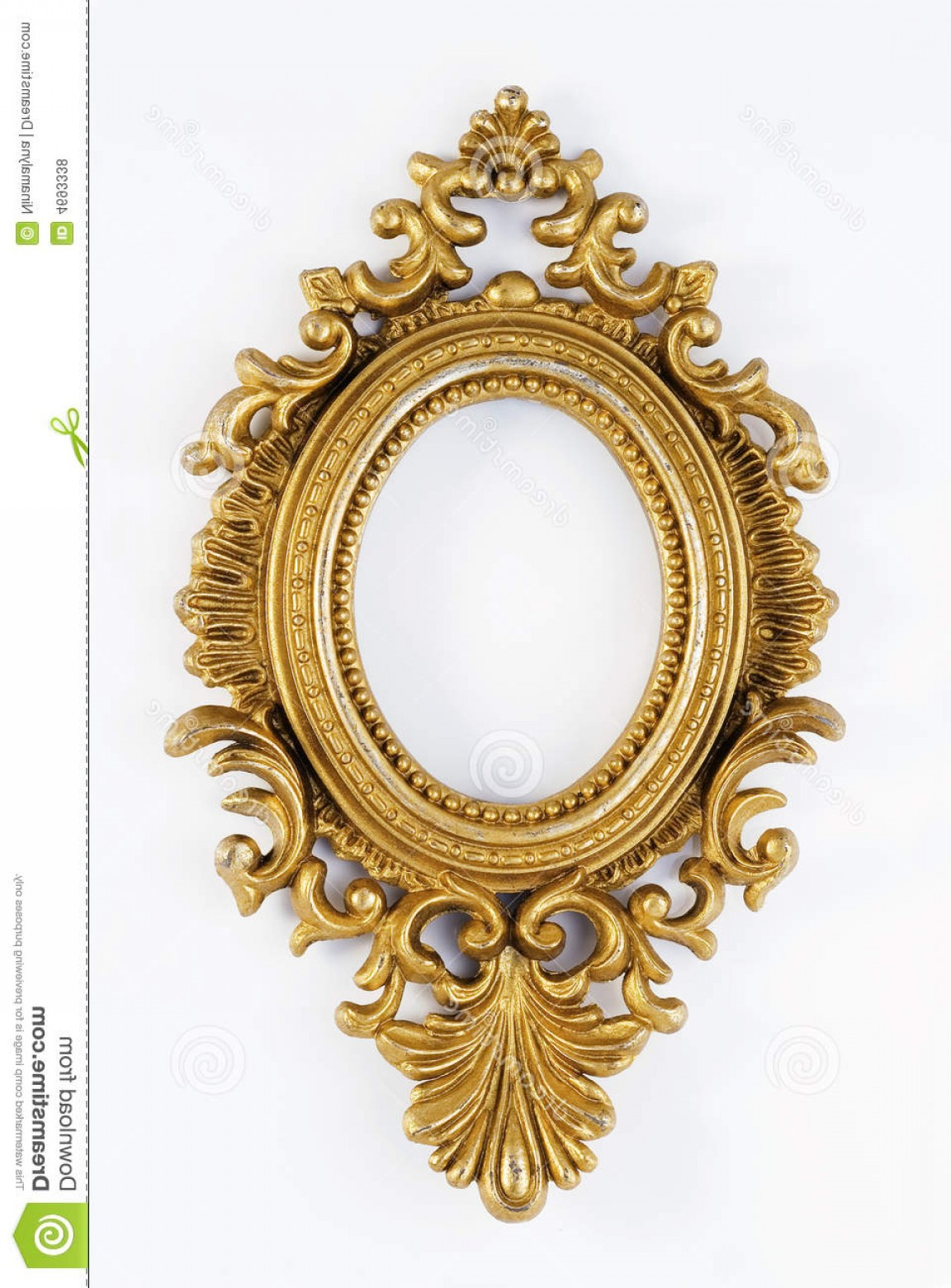 1152x1560 Royalty Free Stock Photos Oval Vintage Gold Ornate Frame Image