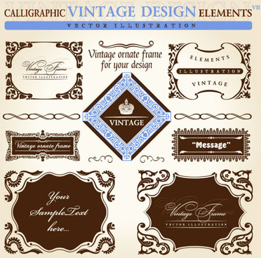 372x368 Vector Ornate Frame Free Vector Download (11,193 Free Vector) For