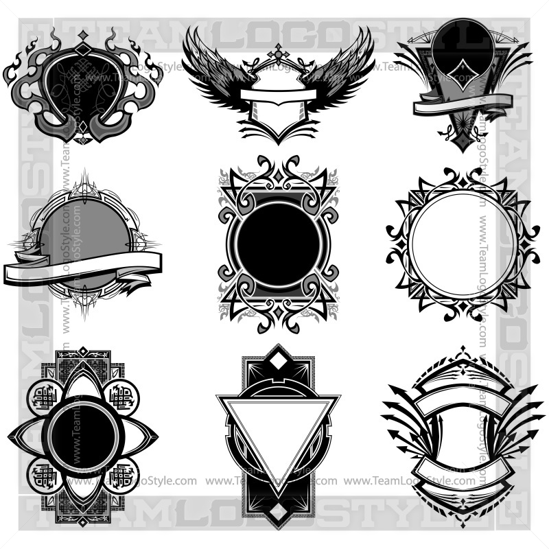 800x800 Ornate Vector Backgrounds