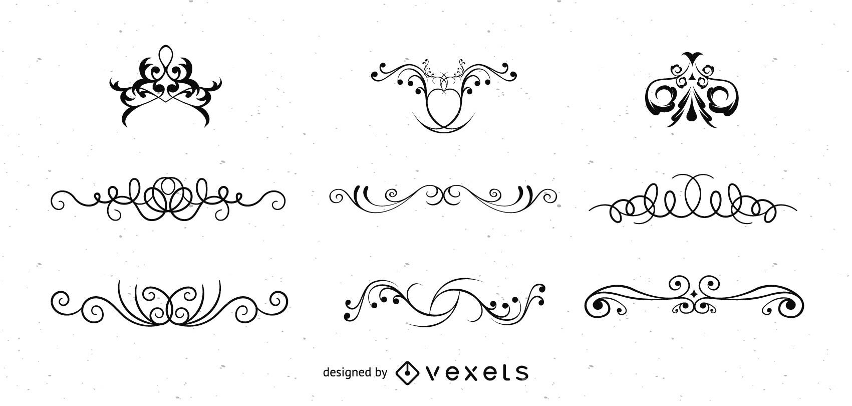 1701x810 Ornate Vector Swirls