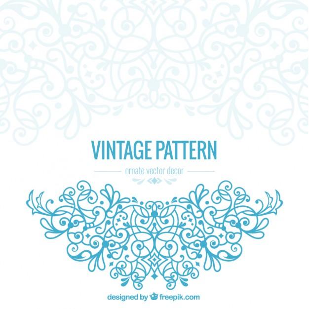 626x626 Vintage Ornate Vector Free Download