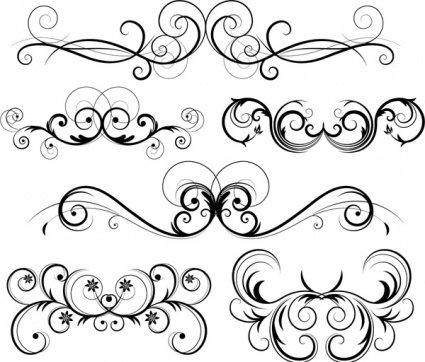 425x362 Free Free Ornate Vector Swirls Psd Files, Vectors Amp Graphics