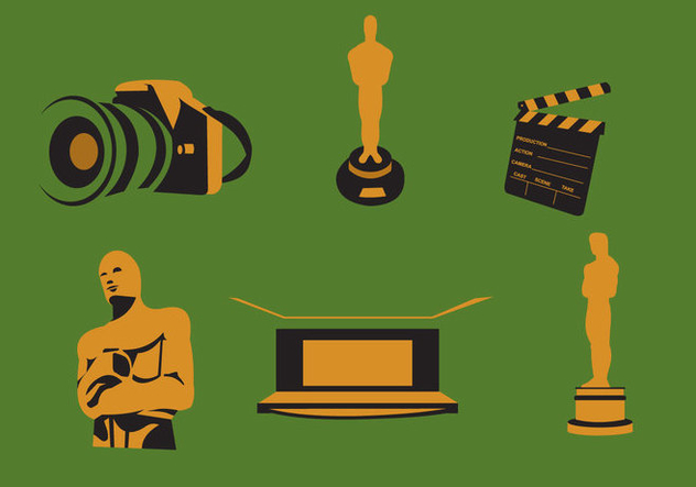 632x443 Movie And Oscar Awards Vector Free Vector Download 367429 Cannypic