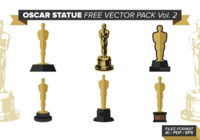 285x200 Oscar Trophy Free Vector Graphic Art Free Download (Found 423
