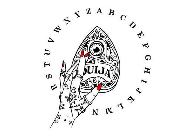632x443 Du Vecteur Gratuit Free Ouija Board