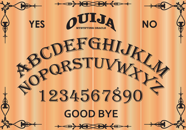 image about Printable Ouija Boards named The excellent free of charge Ouija vector pics. Down load against 61 cost-free