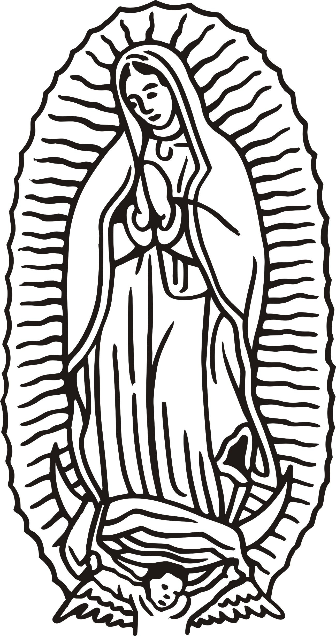 Our Lady Of Guadalupe Vector