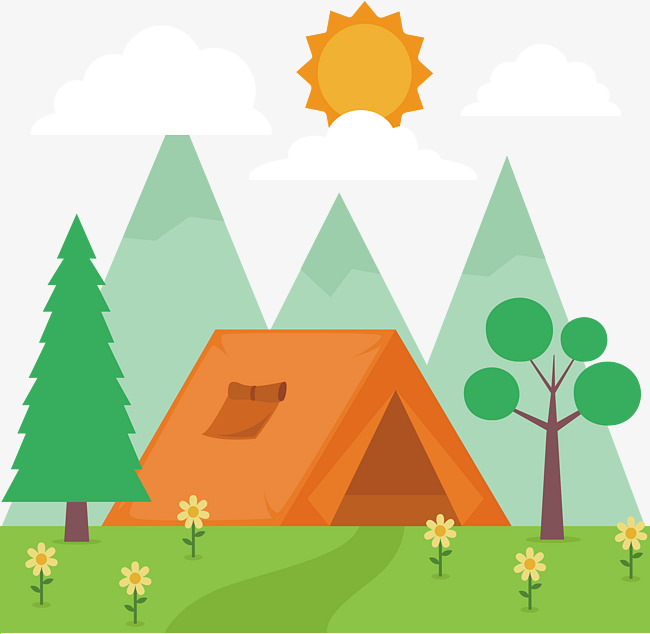 650x634 Outdoor Camping Design, Outdoor, Camping, Cartoon Png And Vector