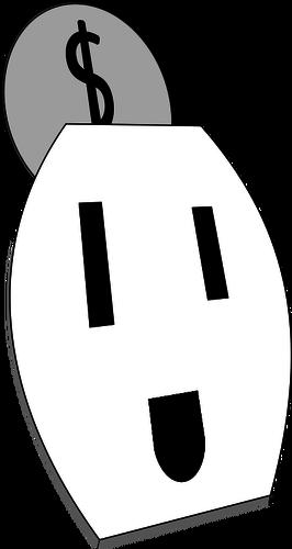 266x500 Happy Electrical Outlet Vector Graphics Public Domain Vectors