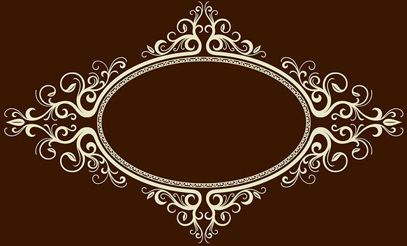 583x352 Oval Frame Vector Free Vector Download (5,974 Free Vector) For