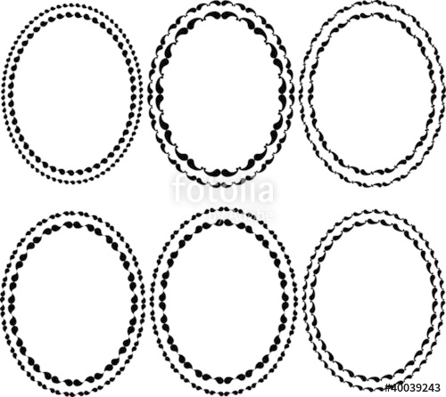 500x446 Oval Border Stock Image And Royalty Free Vector Files On Fotolia