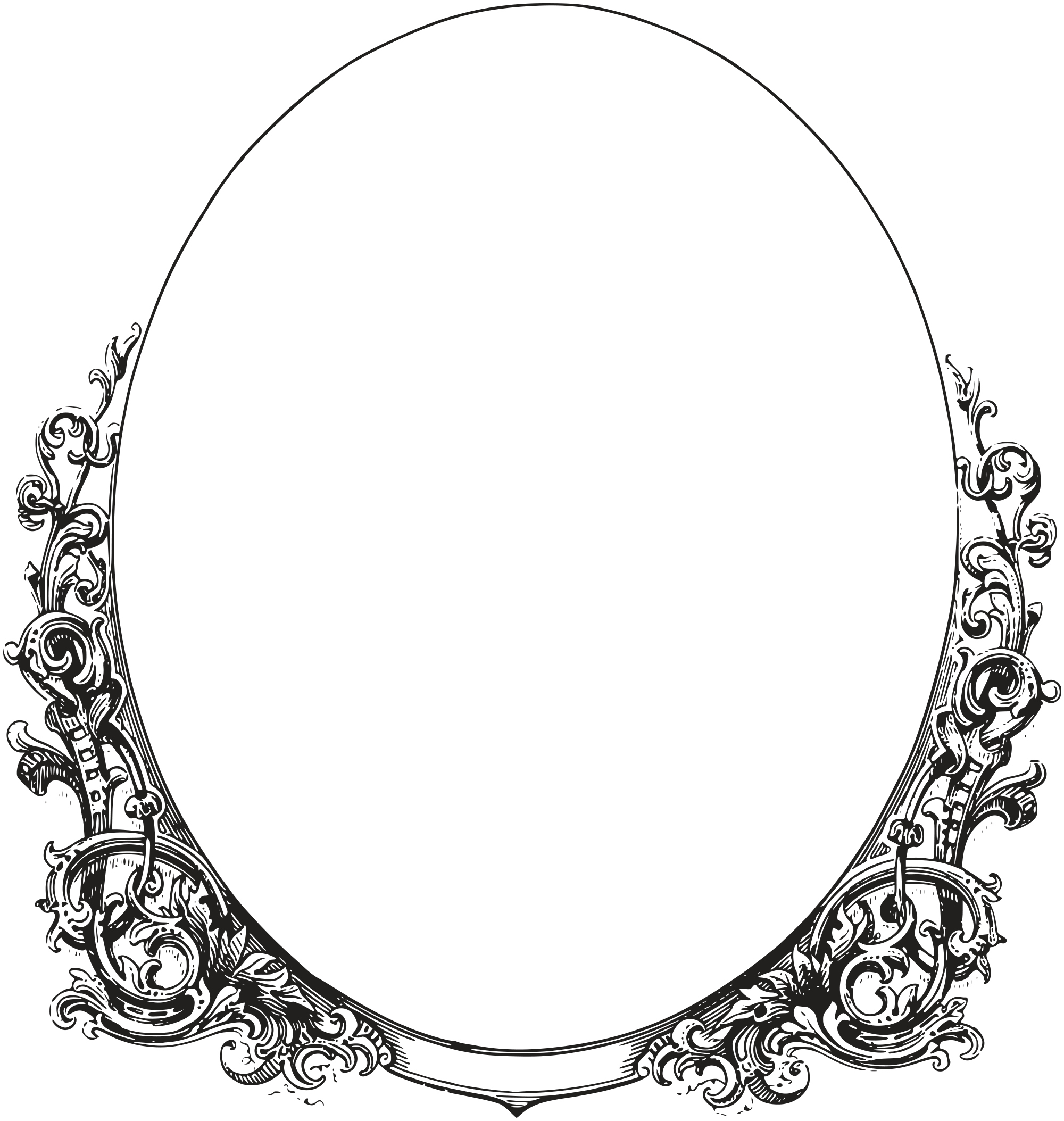 2000x2107 Collection Of Free Vector Frame Oval. Download On Ubisafe