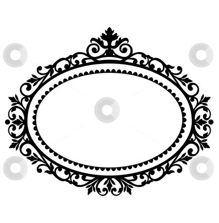 442x450 Decorative Frame Stock Vector