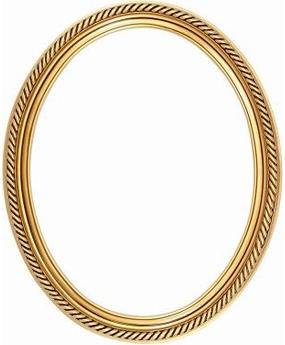 285x345 Oval Gold Frame Clipart Amp Oval Gold Frame Clip Art Images