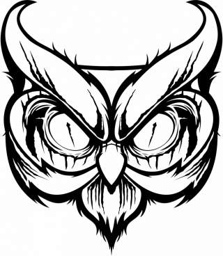 320x368 Free Owl Vector Graphics Free Vector Download (288 Free Vector