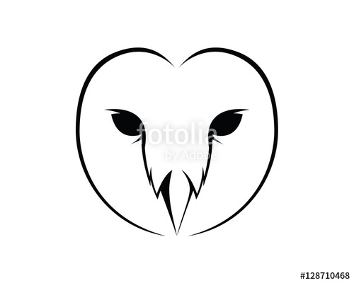 500x400 Barn Owl Face Stock Image And Royalty Free Vector Files On