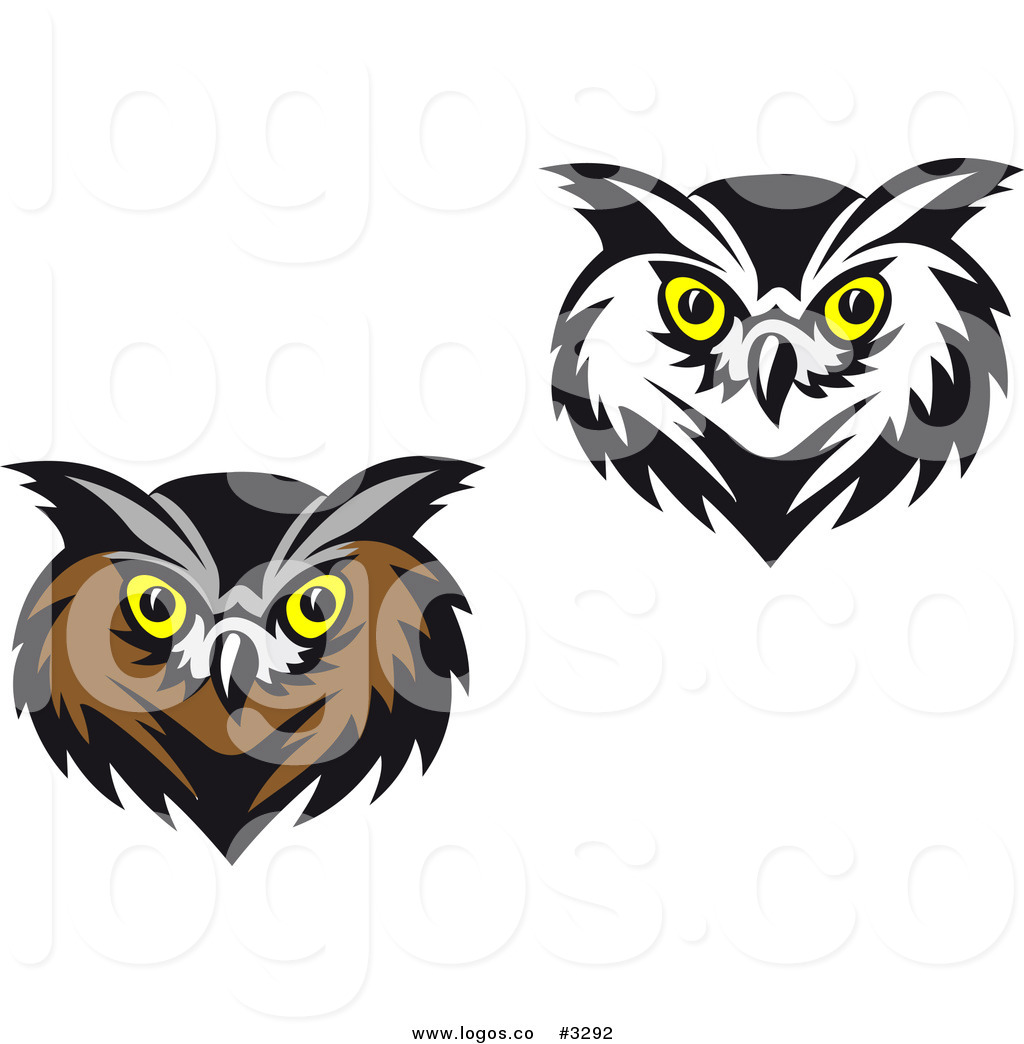 1024x1044 Royalty Free Vector Of Owl Face Logos By Vector Tradition Sm