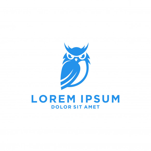 626x626 Owl Logo Template Vector Premium Download