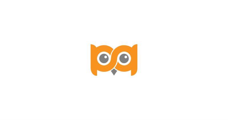 800x420 Owl Logo Vector Makiplace