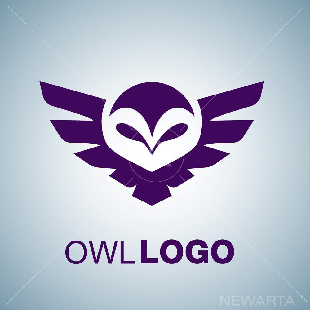1000x1000 Owl Logo Set
