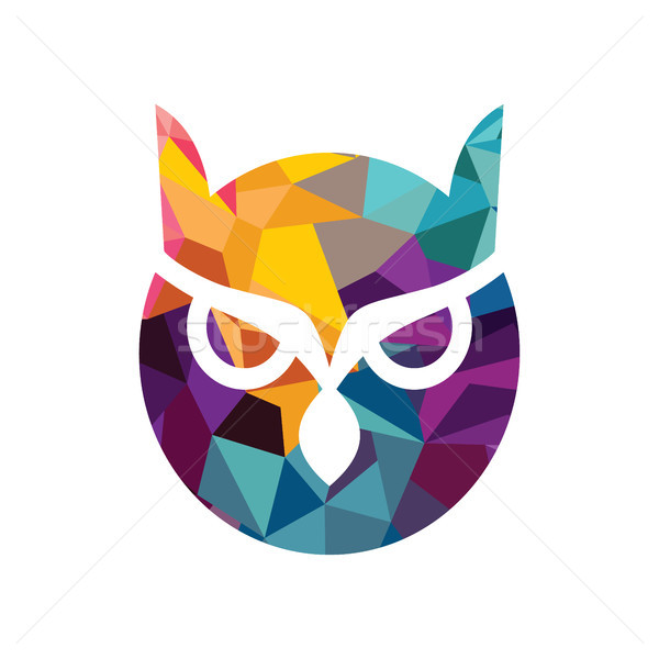 600x600 Vector Owl Logo Vector Illustration Vector1st ( 8857279