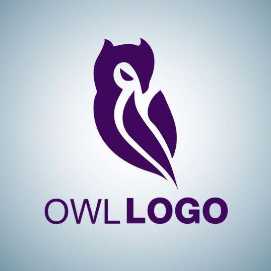538x539 Creative Owl Logo Design Vector 03 Free Download