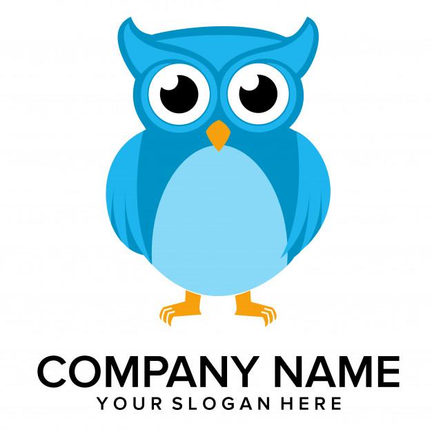 626x626 Owl Logo Vector Vector Premium Download