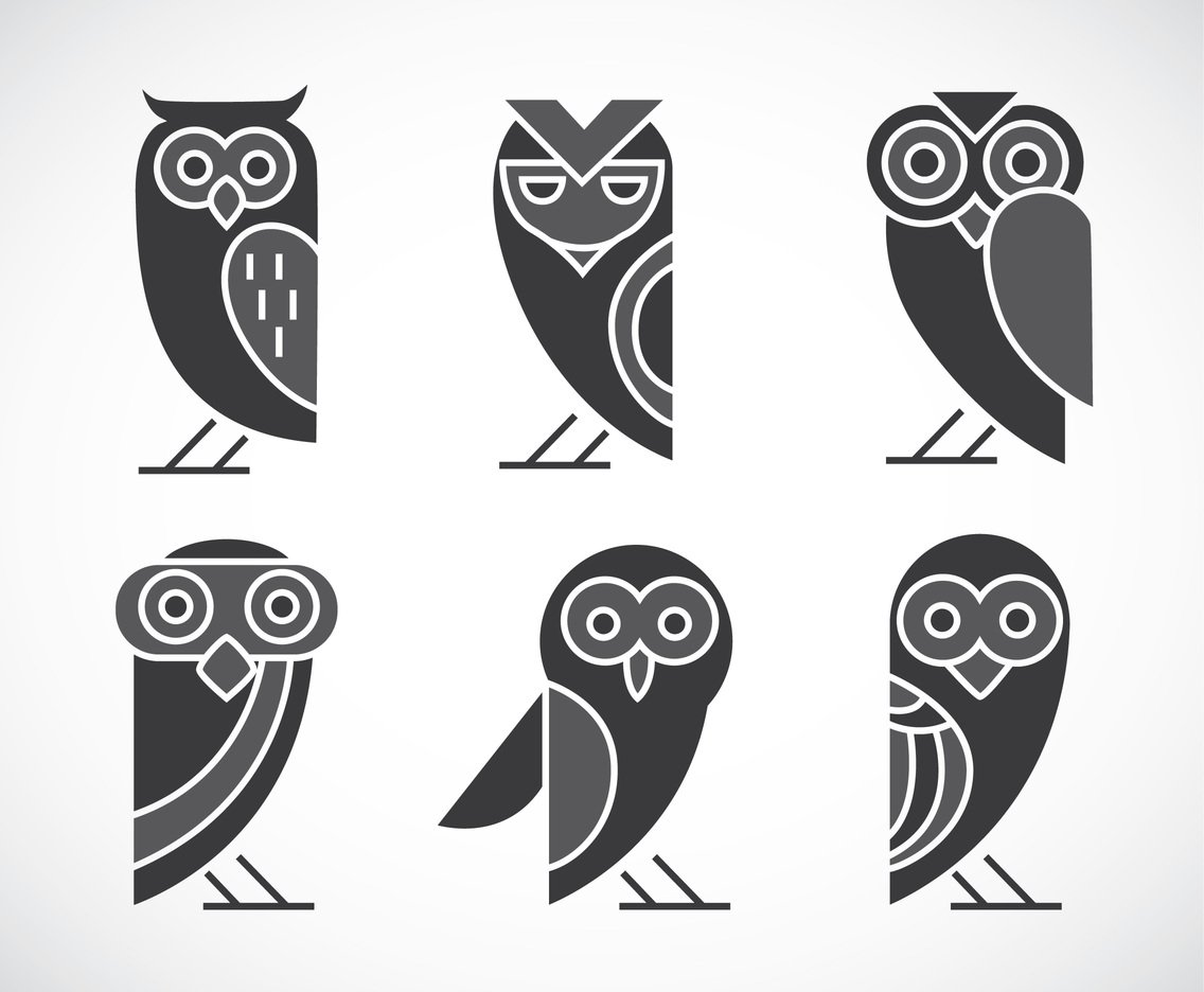 1136x936 Owl Vector Sets Vector Art Amp Graphics