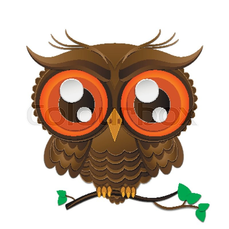 800x800 Vector Illustration Of Owl. Bird Illustrated In Tribal.owl Whith