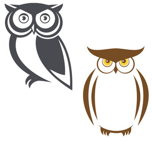 300x280 Owl Vector Royalty Free Photos And Vectors