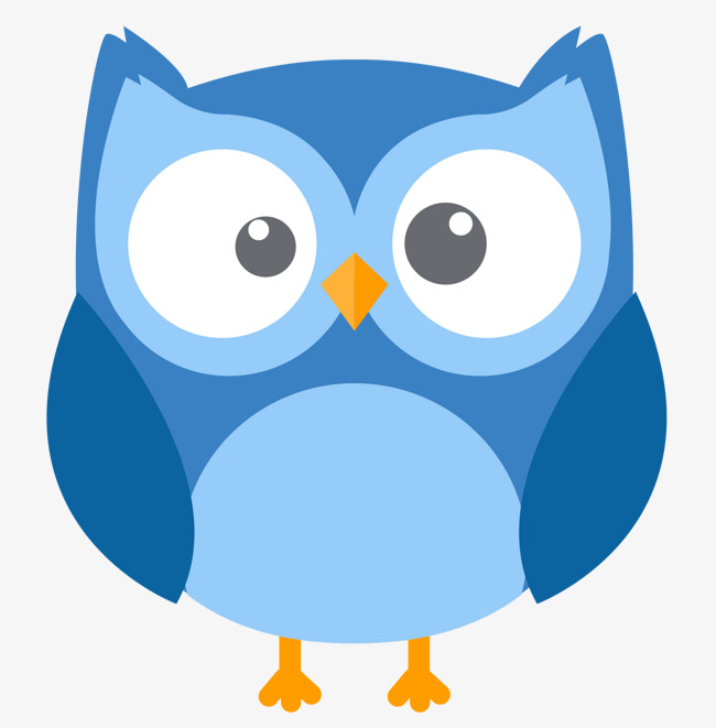 650x661 Blue Owl Vector, Owl Clipart, Blue, Blue Png And Vector For Free