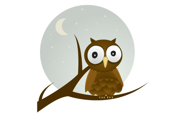 600x380 Free Download Of Free Vector Owl Vector Graphic