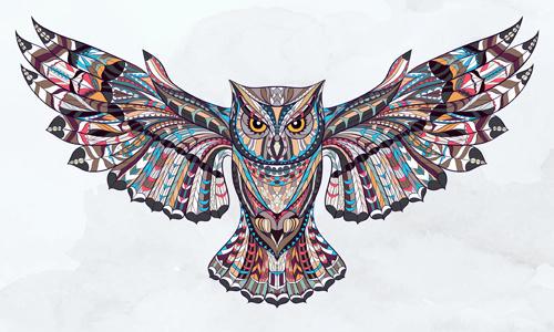 500x300 Free Owl Vector Graphics Free Vector Download (289 Free Vector