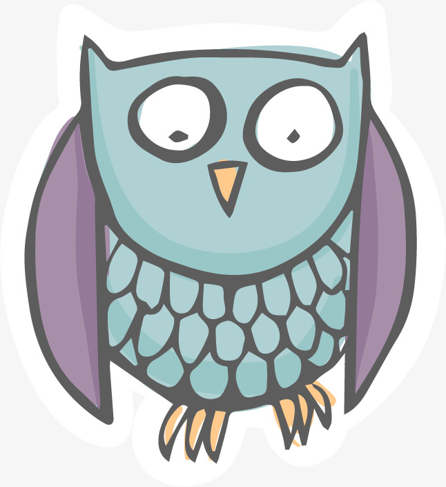 646x705 Owl Vector Free Material, Owl, Vector, Material Png And Vector For