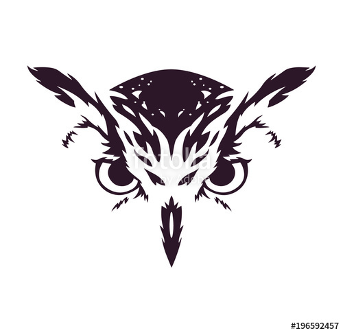 500x485 Owl Vector Stock Image And Royalty Free Vector Files On Fotolia