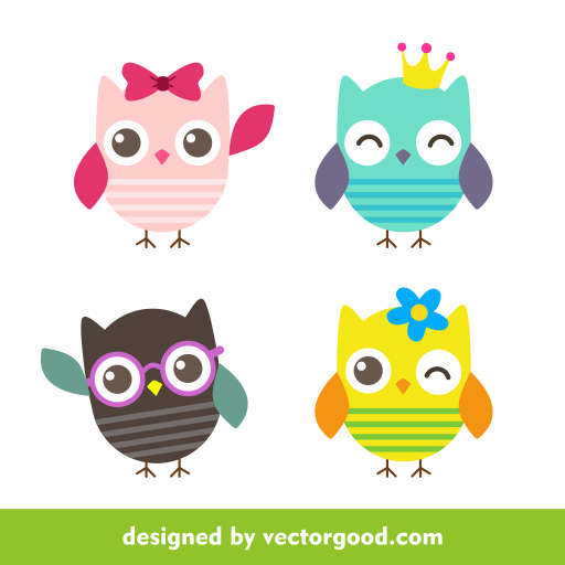 512x512 Free Vector Cdr Owl Vector By Freevectorstock